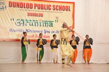 Indian Historical Warrior Dance Best boarding school in shekhawati rajasthan