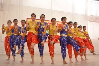 Natraj Dance Best boarding school in shekhawati Rajasthan